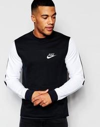Черный свитшот Nike 804775-010 - Черный