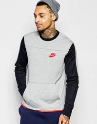 Серый свитшот Nike 804775-063 - Серый
