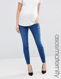 Облегающие джинсы для беременных ASOS Maternity Ridley