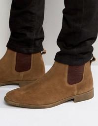 Светло-коричневые замшевые ботинки челси KG By Kurt Geiger Guildford
