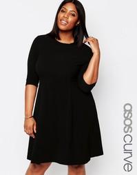 Цельнокройное платье Koko Plus - Черный