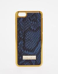 Чехол из искусственной змеиной кожи для iPhone 5C Skinny Dip - Серый Skinnydip