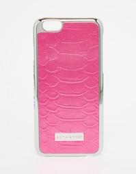 Чехол для iPhone 6/6S с принтом под змеиную кожу Skinny Dip - Розовый Skinnydip