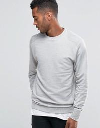 Джемпер в рубчик D-Struct - Серый