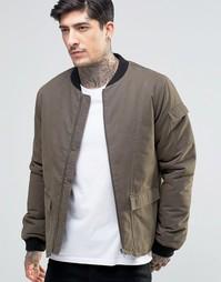 Куртка-пилот цвета хаки Another Influence - Зеленый