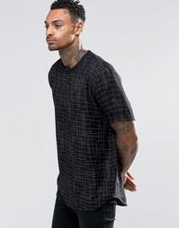 Черная футболка ASOS - Черный