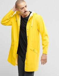 Непромокаемый плащ Rains - Желтый