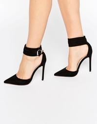Туфли на каблуке с острым носком ASOS PLUTO - Черный