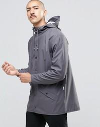 Короткая водонепроницаемая куртка Rains - Smoke