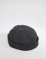 Черная кепка ASOS - Черный