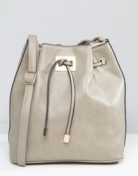 Гладкая сумка Yoki Fashion - Серый