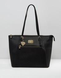 Классическая сумка для покупок на молнии Marc B Angel - Черный
