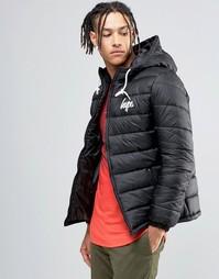 Дутая куртка Hype - Черный