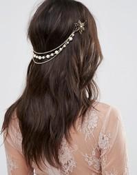 Заколки для волос с винтажной цветочной отделкой и жемчугом ASOS