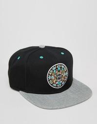 Бейсболка Mitchell & Ness Greytist Vancouver Grizzlies - Черный