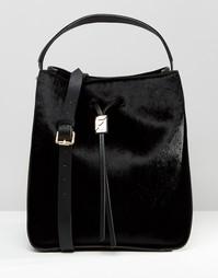 Большая сумка дафл с завязкой Fiorelli Riley - Riley black