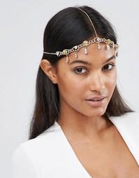 Броское украшение для волос с камнями ASOS - Crystal