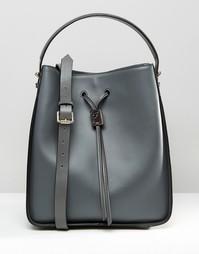 Большая сумка дафл с завязкой Fiorelli Riley - Riley grey