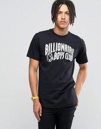 Футболка со светоотражающим логотипом Billionaire Boys Club - Черный