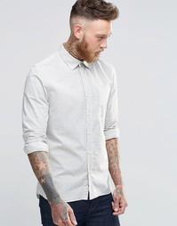 Рубашка в полоску Nudie Henry - Желтоватый