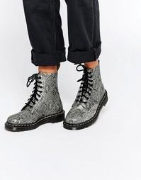 Ботинки с 8 парами люверсов Dr Martens 1460 Asp