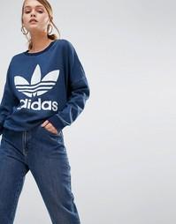 Свитшот adidas Originals - Темно-синий