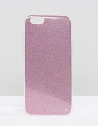 Чехол с блестками для iPhone 6 Signature - Розовый