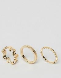 3 кольца Nylon - Золотой