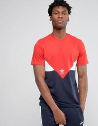 Футболка adidas Originals CRDO AY7808 - Красный