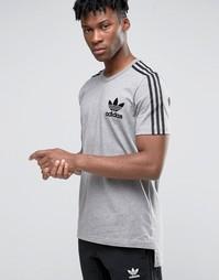 Футболка adidas Originals Adicolour B10710 - Серый