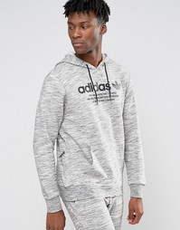 adidas Originals Premium Trefoil Hoodie AZ1217 - Серый