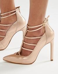 Туфли на каблуке с решетчатым дизайном Steve Madden