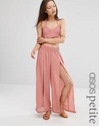 Пляжные брюки ASOS PETITE - Терракотовый