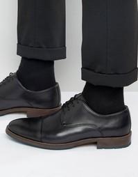 Черные кожаные туфли дерби Aldo Ybeasa - Черный
