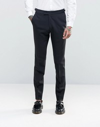 Зауженные фланелевые брюки Hart Hollywood by Nick Hart - Черный