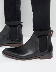 Черные кожаные ботинки челси Aldo Merin - Черный