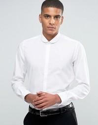 Рубашка зауженного кроя с закругленным воротником Hart Hollywood by Ni