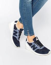 Серые замшевые кроссовки с сеточкой New Balance 996