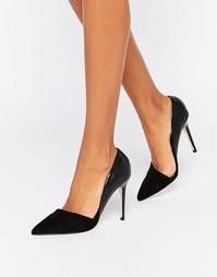 Туфли-лодочки с острым носом Lipsy - Черный