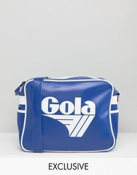 Синяя сумка почтальона Gola Classic Redford - Синий