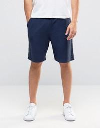 Темно-синие трикотажные шорты ASOS - Синий
