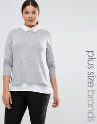 Рубашка 2 в 1 Junarose - Серый