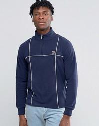 Флисовая куртка Fila Vintage - Темно-синий