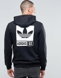 Худи Adidas Street - Черный