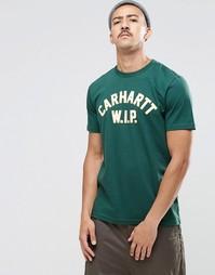 Футболка с принтом Carhartt WIP - Зеленый