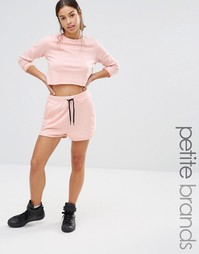 Шорты для бега Missguided Petite Exclusive - Розовый