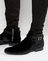 Бархатные ботинки House Of Hounds Albion Jodphur - Черный