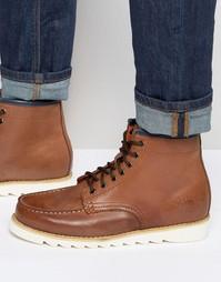 Светло-коричневые кожаные ботинки Bellfield Heritage - Рыжий