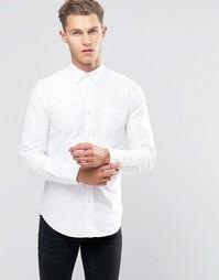 Оксфордская рубашка United Colors of Benetton - Белый 903