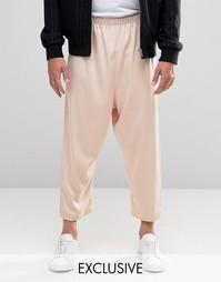 Свободная юбка‑шорты Reclaimed Vintage - Розовый